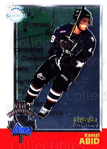 1998 Bowman CHL Chrome OPC International #121 Ramzi Abid<br/>1 In Stock - $3.00 each - <a href=https://centericecollectibles.foxycart.com/cart?name=1998%20Bowman%20CHL%20Chrome%20OPC%20International%20%23121%20Ramzi%20Abid...&quantity_max=1&price=$3.00&code=362391 class=foxycart> Buy it now! </a>