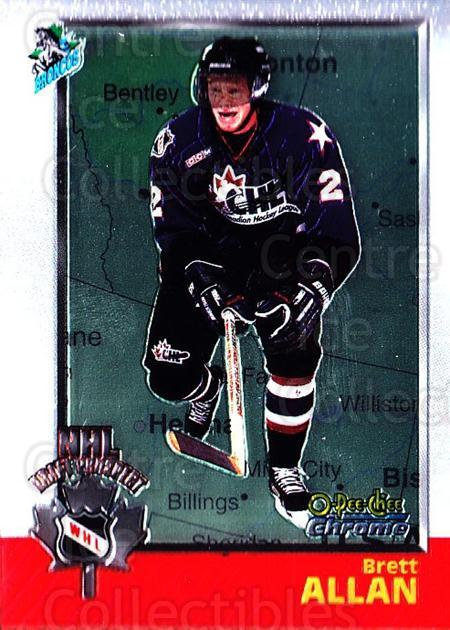 1998 Bowman CHL Chrome OPC International #122 Brett Allan<br/>1 In Stock - $3.00 each - <a href=https://centericecollectibles.foxycart.com/cart?name=1998%20Bowman%20CHL%20Chrome%20OPC%20International%20%23122%20Brett%20Allan...&quantity_max=1&price=$3.00&code=362392 class=foxycart> Buy it now! </a>