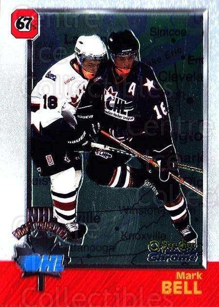 1998 Bowman CHL Chrome OPC International #123 Mark Bell<br/>1 In Stock - $3.00 each - <a href=https://centericecollectibles.foxycart.com/cart?name=1998%20Bowman%20CHL%20Chrome%20OPC%20International%20%23123%20Mark%20Bell...&quantity_max=1&price=$3.00&code=362393 class=foxycart> Buy it now! </a>