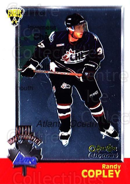 1998 Bowman CHL Chrome OPC International #125 Randy Copley<br/>1 In Stock - $3.00 each - <a href=https://centericecollectibles.foxycart.com/cart?name=1998%20Bowman%20CHL%20Chrome%20OPC%20International%20%23125%20Randy%20Copley...&quantity_max=1&price=$3.00&code=362395 class=foxycart> Buy it now! </a>