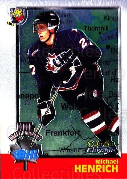 1998 Bowman CHL Chrome OPC International #127 Michael Henrich<br/>1 In Stock - $3.00 each - <a href=https://centericecollectibles.foxycart.com/cart?name=1998%20Bowman%20CHL%20Chrome%20OPC%20International%20%23127%20Michael%20Henrich...&quantity_max=1&price=$3.00&code=362397 class=foxycart> Buy it now! </a>