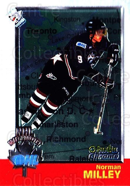 1998 Bowman CHL Chrome OPC International #129 Norm Milley<br/>1 In Stock - $3.00 each - <a href=https://centericecollectibles.foxycart.com/cart?name=1998%20Bowman%20CHL%20Chrome%20OPC%20International%20%23129%20Norm%20Milley...&quantity_max=1&price=$3.00&code=362399 class=foxycart> Buy it now! </a>