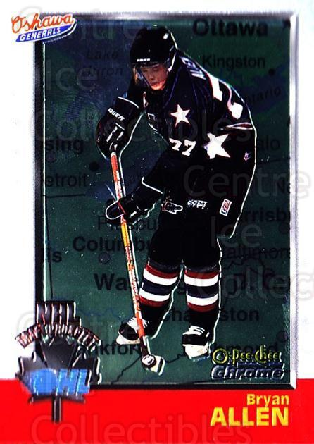 1998 Bowman CHL Chrome OPC International #133 Bryan Allen<br/>2 In Stock - $3.00 each - <a href=https://centericecollectibles.foxycart.com/cart?name=1998%20Bowman%20CHL%20Chrome%20OPC%20International%20%23133%20Bryan%20Allen...&quantity_max=2&price=$3.00&code=362403 class=foxycart> Buy it now! </a>
