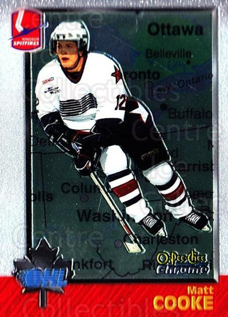 1998 Bowman CHL Chrome OPC International #11 Matt Cooke<br/>1 In Stock - $3.00 each - <a href=https://centericecollectibles.foxycart.com/cart?name=1998%20Bowman%20CHL%20Chrome%20OPC%20International%20%2311%20Matt%20Cooke...&quantity_max=1&price=$3.00&code=362409 class=foxycart> Buy it now! </a>