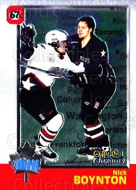 1998 Bowman CHL Chrome OPC International #27 Nick Boynton<br/>1 In Stock - $3.00 each - <a href=https://centericecollectibles.foxycart.com/cart?name=1998%20Bowman%20CHL%20Chrome%20OPC%20International%20%2327%20Nick%20Boynton...&quantity_max=1&price=$3.00&code=362410 class=foxycart> Buy it now! </a>