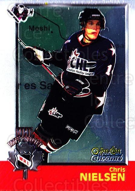 1998 Bowman CHL Chrome OPC International #130 Chris Nielsen<br/>1 In Stock - $3.00 each - <a href=https://centericecollectibles.foxycart.com/cart?name=1998%20Bowman%20CHL%20Chrome%20OPC%20International%20%23130%20Chris%20Nielsen...&quantity_max=1&price=$3.00&code=362412 class=foxycart> Buy it now! </a>