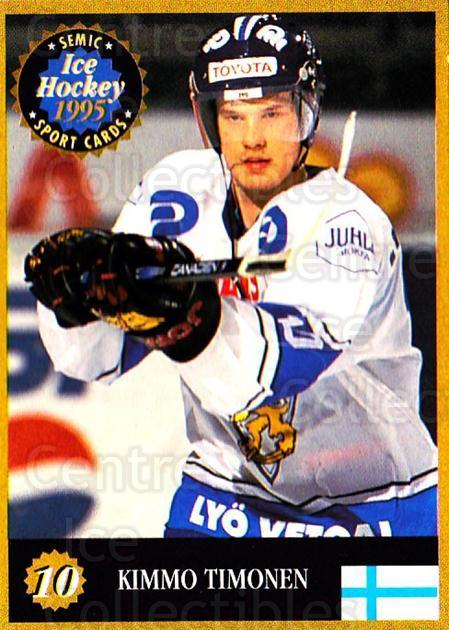 1995 Finnish Semic World Championships #10 Kimmo Timonen<br/>2 In Stock - $2.00 each - <a href=https://centericecollectibles.foxycart.com/cart?name=1995%20Finnish%20Semic%20World%20Championships%20%2310%20Kimmo%20Timonen...&quantity_max=2&price=$2.00&code=36255 class=foxycart> Buy it now! </a>