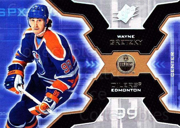 2006-07 SPx #41 Wayne Gretzky<br/>1 In Stock - $5.00 each - <a href=https://centericecollectibles.foxycart.com/cart?name=2006-07%20SPx%20%2341%20Wayne%20Gretzky...&quantity_max=1&price=$5.00&code=362775 class=foxycart> Buy it now! </a>