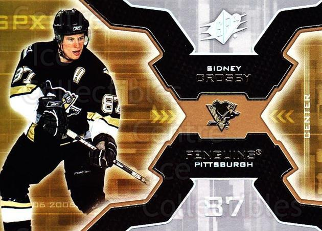 2006-07 SPx #81 Sidney Crosby<br/>1 In Stock - $5.00 each - <a href=https://centericecollectibles.foxycart.com/cart?name=2006-07%20SPx%20%2381%20Sidney%20Crosby...&quantity_max=1&price=$5.00&code=362776 class=foxycart> Buy it now! </a>