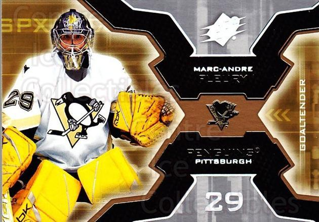 2006-07 SPx #82 Marc-Andre Fleury<br/>1 In Stock - $2.00 each - <a href=https://centericecollectibles.foxycart.com/cart?name=2006-07%20SPx%20%2382%20Marc-Andre%20Fleu...&quantity_max=1&price=$2.00&code=362777 class=foxycart> Buy it now! </a>
