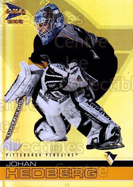 2001-02 McDonalds Pacific #30 Johan Hedberg<br/>10 In Stock - $1.00 each - <a href=https://centericecollectibles.foxycart.com/cart?name=2001-02%20McDonalds%20Pacific%20%2330%20Johan%20Hedberg...&quantity_max=10&price=$1.00&code=362789 class=foxycart> Buy it now! </a>