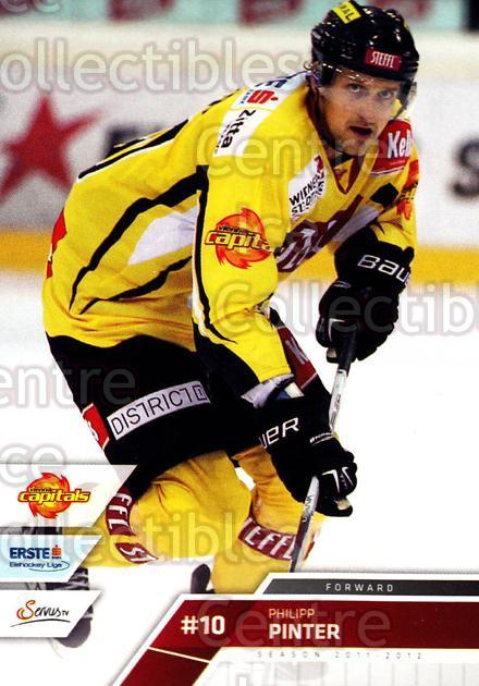 2011-12 Erste Bank Eishockey Liga EBEL #219 Philipp Pinter<br/>5 In Stock - $2.00 each - <a href=https://centericecollectibles.foxycart.com/cart?name=2011-12%20Erste%20Bank%20Eishockey%20Liga%20EBEL%20%23219%20Philipp%20Pinter...&quantity_max=5&price=$2.00&code=362824 class=foxycart> Buy it now! </a>