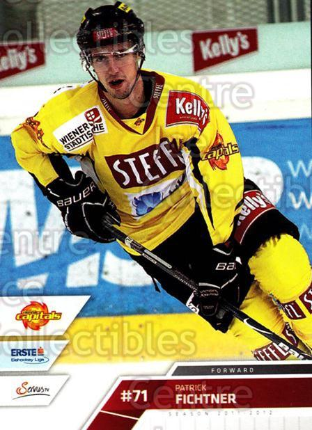 2011-12 Erste Bank Eishockey Liga EBEL #220 Patrick Fichtner<br/>4 In Stock - $2.00 each - <a href=https://centericecollectibles.foxycart.com/cart?name=2011-12%20Erste%20Bank%20Eishockey%20Liga%20EBEL%20%23220%20Patrick%20Fichtne...&quantity_max=4&price=$2.00&code=362825 class=foxycart> Buy it now! </a>