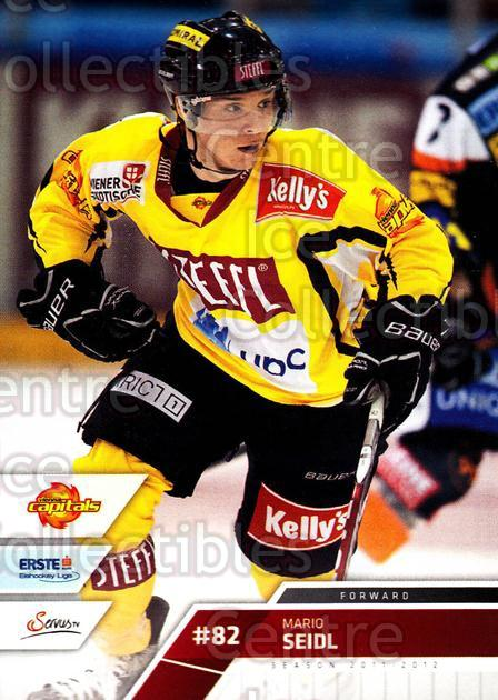 2011-12 Erste Bank Eishockey Liga EBEL #221 Mario Seidl<br/>5 In Stock - $2.00 each - <a href=https://centericecollectibles.foxycart.com/cart?name=2011-12%20Erste%20Bank%20Eishockey%20Liga%20EBEL%20%23221%20Mario%20Seidl...&quantity_max=5&price=$2.00&code=362826 class=foxycart> Buy it now! </a>