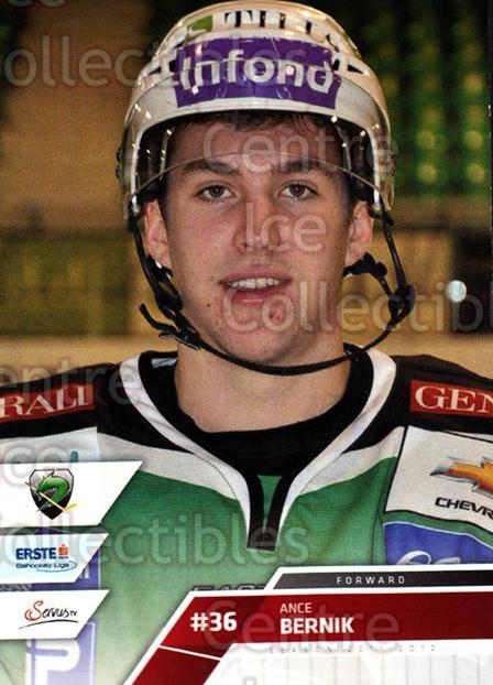 2011-12 Erste Bank Eishockey Liga EBEL #237 Ance Bernik<br/>4 In Stock - $2.00 each - <a href=https://centericecollectibles.foxycart.com/cart?name=2011-12%20Erste%20Bank%20Eishockey%20Liga%20EBEL%20%23237%20Ance%20Bernik...&quantity_max=4&price=$2.00&code=362842 class=foxycart> Buy it now! </a>