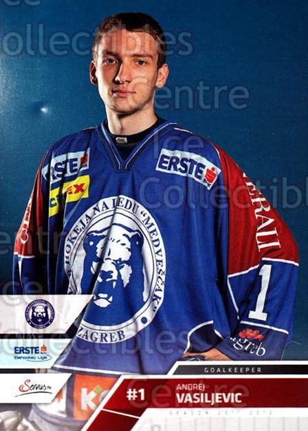 2011-12 Erste Bank Eishockey Liga EBEL #239 Andrej Vasiljevic<br/>2 In Stock - $2.00 each - <a href=https://centericecollectibles.foxycart.com/cart?name=2011-12%20Erste%20Bank%20Eishockey%20Liga%20EBEL%20%23239%20Andrej%20Vasiljev...&quantity_max=2&price=$2.00&code=362844 class=foxycart> Buy it now! </a>