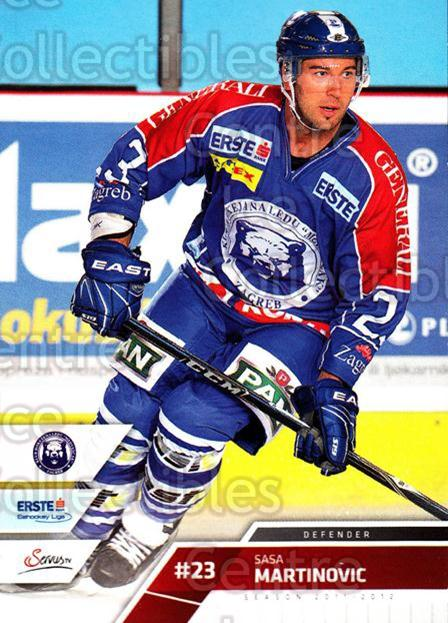 2011-12 Erste Bank Eishockey Liga EBEL #242 Sasa Martinovic<br/>5 In Stock - $2.00 each - <a href=https://centericecollectibles.foxycart.com/cart?name=2011-12%20Erste%20Bank%20Eishockey%20Liga%20EBEL%20%23242%20Sasa%20Martinovic...&quantity_max=5&price=$2.00&code=362847 class=foxycart> Buy it now! </a>