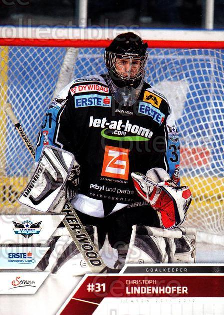 2011-12 Erste Bank Eishockey Liga EBEL #248 Christoph Lindenhofer<br/>4 In Stock - $2.00 each - <a href=https://centericecollectibles.foxycart.com/cart?name=2011-12%20Erste%20Bank%20Eishockey%20Liga%20EBEL%20%23248%20Christoph%20Linde...&quantity_max=4&price=$2.00&code=362853 class=foxycart> Buy it now! </a>