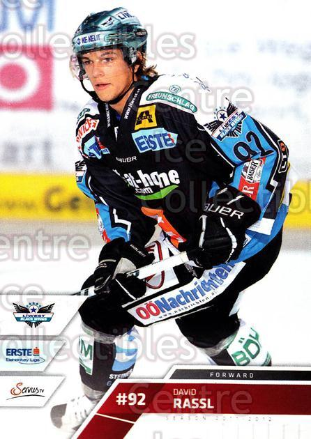 2011-12 Erste Bank Eishockey Liga EBEL #255 David Rassl<br/>5 In Stock - $2.00 each - <a href=https://centericecollectibles.foxycart.com/cart?name=2011-12%20Erste%20Bank%20Eishockey%20Liga%20EBEL%20%23255%20David%20Rassl...&quantity_max=5&price=$2.00&code=362860 class=foxycart> Buy it now! </a>