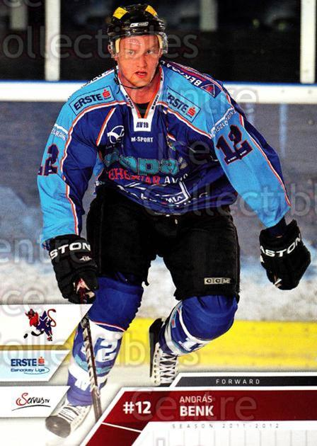 2011-12 Erste Bank Eishockey Liga EBEL #267 Andras Benk<br/>6 In Stock - $2.00 each - <a href=https://centericecollectibles.foxycart.com/cart?name=2011-12%20Erste%20Bank%20Eishockey%20Liga%20EBEL%20%23267%20Andras%20Benk...&quantity_max=6&price=$2.00&code=362872 class=foxycart> Buy it now! </a>