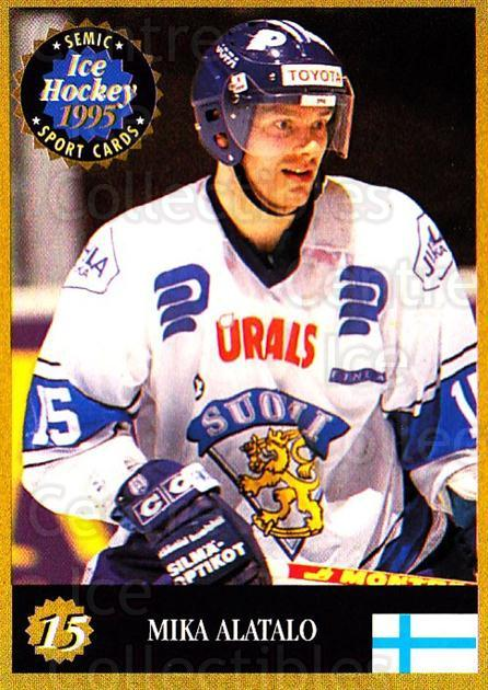 1995 Finnish Semic World Championships #15 Mika Alatalo<br/>3 In Stock - $2.00 each - <a href=https://centericecollectibles.foxycart.com/cart?name=1995%20Finnish%20Semic%20World%20Championships%20%2315%20Mika%20Alatalo...&quantity_max=3&price=$2.00&code=36298 class=foxycart> Buy it now! </a>