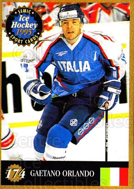 1995 Finnish Semic World Championships #174 Gaetano Orlando<br/>5 In Stock - $2.00 each - <a href=https://centericecollectibles.foxycart.com/cart?name=1995%20Finnish%20Semic%20World%20Championships%20%23174%20Gaetano%20Orlando...&quantity_max=5&price=$2.00&code=36318 class=foxycart> Buy it now! </a>