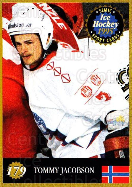 1995 Finnish Semic World Championships #179 Tommy Jakobsen<br/>5 In Stock - $2.00 each - <a href=https://centericecollectibles.foxycart.com/cart?name=1995%20Finnish%20Semic%20World%20Championships%20%23179%20Tommy%20Jakobsen...&quantity_max=5&price=$2.00&code=36323 class=foxycart> Buy it now! </a>