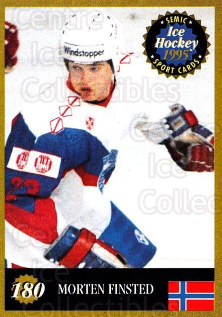 1995 Finnish Semic World Championships #180 Morten Finstad<br/>7 In Stock - $2.00 each - <a href=https://centericecollectibles.foxycart.com/cart?name=1995%20Finnish%20Semic%20World%20Championships%20%23180%20Morten%20Finstad...&quantity_max=7&price=$2.00&code=36325 class=foxycart> Buy it now! </a>
