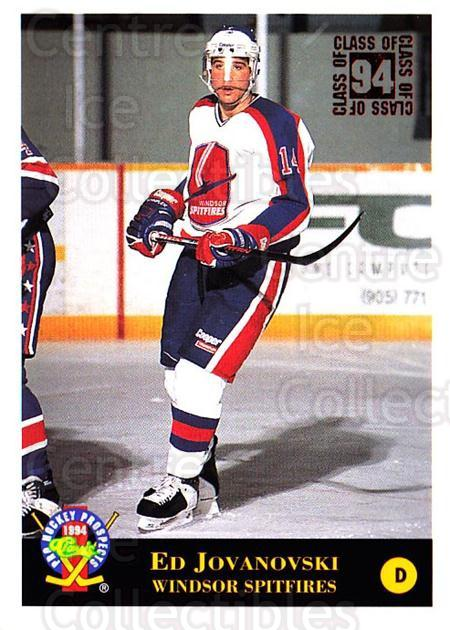 1994 Classic Pro Prospects #203 Ed Jovanovski<br/>11 In Stock - $1.00 each - <a href=https://centericecollectibles.foxycart.com/cart?name=1994%20Classic%20Pro%20Prospects%20%23203%20Ed%20Jovanovski...&quantity_max=11&price=$1.00&code=3632 class=foxycart> Buy it now! </a>