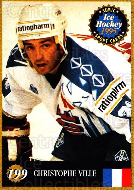 1995 Finnish Semic World Championships #199 Christoph Ville<br/>4 In Stock - $2.00 each - <a href=https://centericecollectibles.foxycart.com/cart?name=1995%20Finnish%20Semic%20World%20Championships%20%23199%20Christoph%20Ville...&quantity_max=4&price=$2.00&code=36344 class=foxycart> Buy it now! </a>