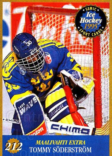 1995 Finnish Semic World Championships #212 Tommy Soderstrom<br/>5 In Stock - $2.00 each - <a href=https://centericecollectibles.foxycart.com/cart?name=1995%20Finnish%20Semic%20World%20Championships%20%23212%20Tommy%20Soderstro...&quantity_max=5&price=$2.00&code=36355 class=foxycart> Buy it now! </a>