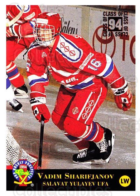 1994 Classic Pro Prospects #207 Vadim Sharifianov<br/>11 In Stock - $1.00 each - <a href=https://centericecollectibles.foxycart.com/cart?name=1994%20Classic%20Pro%20Prospects%20%23207%20Vadim%20Sharifian...&quantity_max=11&price=$1.00&code=3636 class=foxycart> Buy it now! </a>