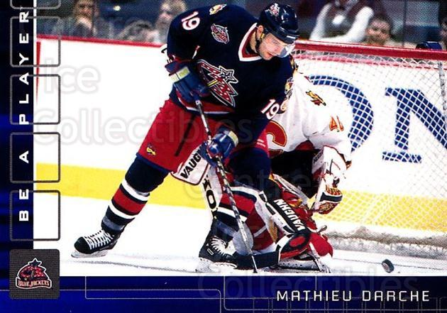 2001-02 BAP Memorabilia Sapphire #238 Mathieu Darche<br/>3 In Stock - $5.00 each - <a href=https://centericecollectibles.foxycart.com/cart?name=2001-02%20BAP%20Memorabilia%20Sapphire%20%23238%20Mathieu%20Darche...&quantity_max=3&price=$5.00&code=363738 class=foxycart> Buy it now! </a>