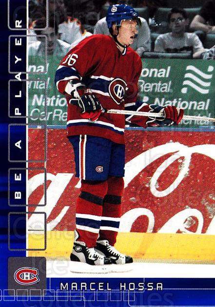 2001-02 BAP Memorabilia Sapphire #324 Marian Hossa<br/>1 In Stock - $5.00 each - <a href=https://centericecollectibles.foxycart.com/cart?name=2001-02%20BAP%20Memorabilia%20Sapphire%20%23324%20Marian%20Hossa...&quantity_max=1&price=$5.00&code=363745 class=foxycart> Buy it now! </a>