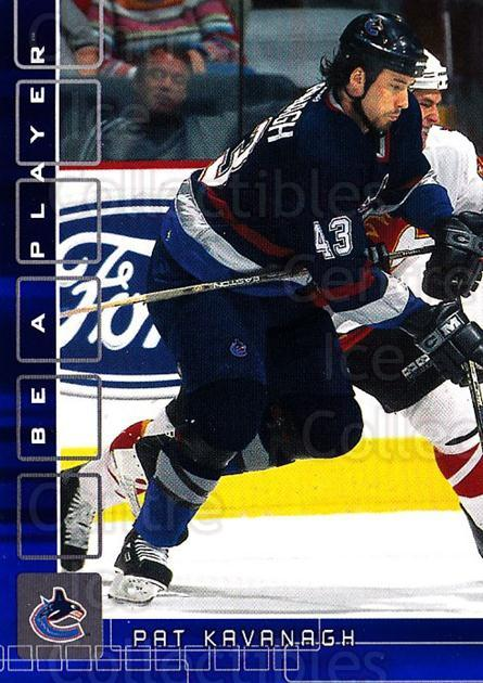 2001-02 BAP Memorabilia Sapphire #332 Pat Kavanagh<br/>1 In Stock - $5.00 each - <a href=https://centericecollectibles.foxycart.com/cart?name=2001-02%20BAP%20Memorabilia%20Sapphire%20%23332%20Pat%20Kavanagh...&quantity_max=1&price=$5.00&code=363747 class=foxycart> Buy it now! </a>