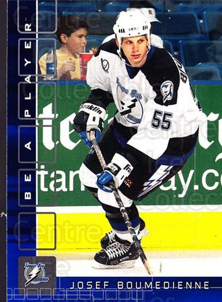 2001-02 BAP Memorabilia Sapphire #346 Josef Boumedienne<br/>1 In Stock - $5.00 each - <a href=https://centericecollectibles.foxycart.com/cart?name=2001-02%20BAP%20Memorabilia%20Sapphire%20%23346%20Josef%20Boumedien...&quantity_max=1&price=$5.00&code=363751 class=foxycart> Buy it now! </a>