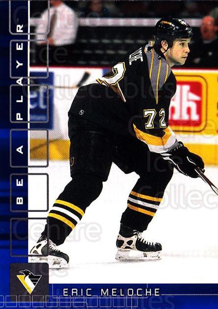 2001-02 BAP Memorabilia Sapphire #396 Eric Meloche<br/>1 In Stock - $5.00 each - <a href=https://centericecollectibles.foxycart.com/cart?name=2001-02%20BAP%20Memorabilia%20Sapphire%20%23396%20Eric%20Meloche...&quantity_max=1&price=$5.00&code=363756 class=foxycart> Buy it now! </a>