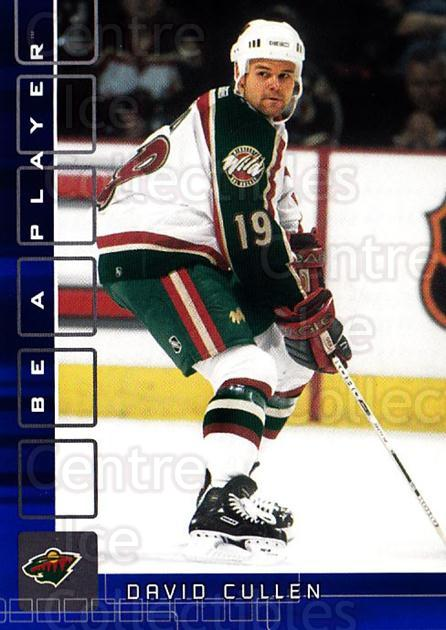 2001-02 BAP Memorabilia Sapphire #414 David Cullen<br/>1 In Stock - $5.00 each - <a href=https://centericecollectibles.foxycart.com/cart?name=2001-02%20BAP%20Memorabilia%20Sapphire%20%23414%20David%20Cullen...&quantity_max=1&price=$5.00&code=363762 class=foxycart> Buy it now! </a>
