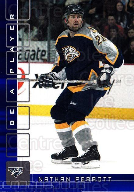 2001-02 BAP Memorabilia Sapphire #442 Nathan Perrott<br/>1 In Stock - $5.00 each - <a href=https://centericecollectibles.foxycart.com/cart?name=2001-02%20BAP%20Memorabilia%20Sapphire%20%23442%20Nathan%20Perrott...&quantity_max=1&price=$5.00&code=363764 class=foxycart> Buy it now! </a>