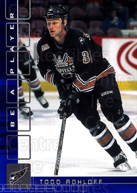 2001-02 BAP Memorabilia Sapphire #451 Todd Rohloff<br/>2 In Stock - $5.00 each - <a href=https://centericecollectibles.foxycart.com/cart?name=2001-02%20BAP%20Memorabilia%20Sapphire%20%23451%20Todd%20Rohloff...&quantity_max=2&price=$5.00&code=363765 class=foxycart> Buy it now! </a>