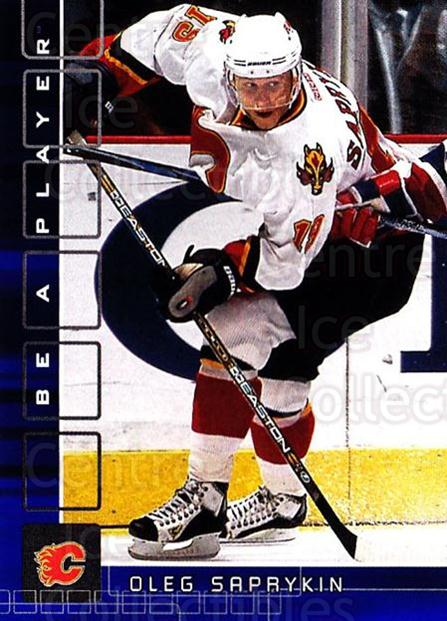 2001-02 BAP Memorabilia Sapphire #10 Oleg Saprykin<br/>1 In Stock - $5.00 each - <a href=https://centericecollectibles.foxycart.com/cart?name=2001-02%20BAP%20Memorabilia%20Sapphire%20%2310%20Oleg%20Saprykin...&quantity_max=1&price=$5.00&code=363769 class=foxycart> Buy it now! </a>
