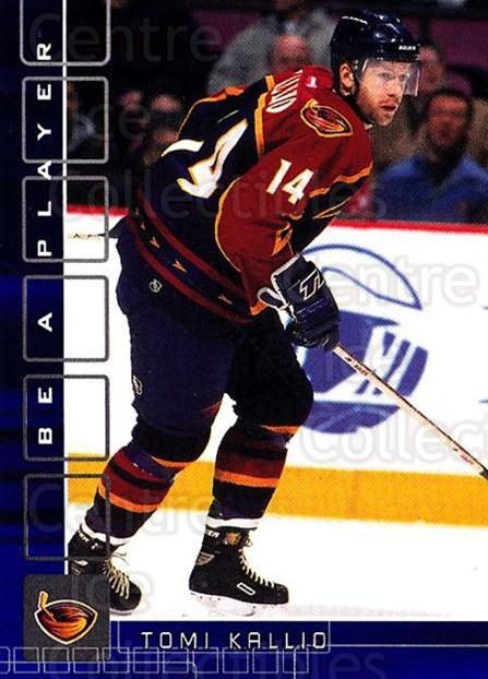 2001-02 BAP Memorabilia Sapphire #107 Tomi Kallio<br/>1 In Stock - $5.00 each - <a href=https://centericecollectibles.foxycart.com/cart?name=2001-02%20BAP%20Memorabilia%20Sapphire%20%23107%20Tomi%20Kallio...&quantity_max=1&price=$5.00&code=363777 class=foxycart> Buy it now! </a>