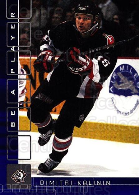 2001-02 BAP Memorabilia Sapphire #111 Dimitri Kalinin<br/>2 In Stock - $5.00 each - <a href=https://centericecollectibles.foxycart.com/cart?name=2001-02%20BAP%20Memorabilia%20Sapphire%20%23111%20Dimitri%20Kalinin...&quantity_max=2&price=$5.00&code=363782 class=foxycart> Buy it now! </a>