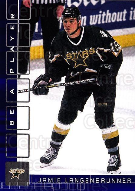 2001-02 BAP Memorabilia Sapphire #114 Jamie Langenbrunner<br/>1 In Stock - $5.00 each - <a href=https://centericecollectibles.foxycart.com/cart?name=2001-02%20BAP%20Memorabilia%20Sapphire%20%23114%20Jamie%20Langenbru...&quantity_max=1&price=$5.00&code=363785 class=foxycart> Buy it now! </a>