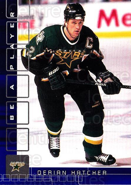 2001-02 BAP Memorabilia Sapphire #118 Derian Hatcher<br/>1 In Stock - $5.00 each - <a href=https://centericecollectibles.foxycart.com/cart?name=2001-02%20BAP%20Memorabilia%20Sapphire%20%23118%20Derian%20Hatcher...&quantity_max=1&price=$5.00&code=363789 class=foxycart> Buy it now! </a>
