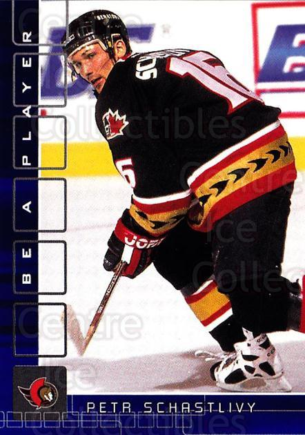 2001-02 BAP Memorabilia Sapphire #120 Petr Schastlivy<br/>1 In Stock - $5.00 each - <a href=https://centericecollectibles.foxycart.com/cart?name=2001-02%20BAP%20Memorabilia%20Sapphire%20%23120%20Petr%20Schastlivy...&quantity_max=1&price=$5.00&code=363792 class=foxycart> Buy it now! </a>