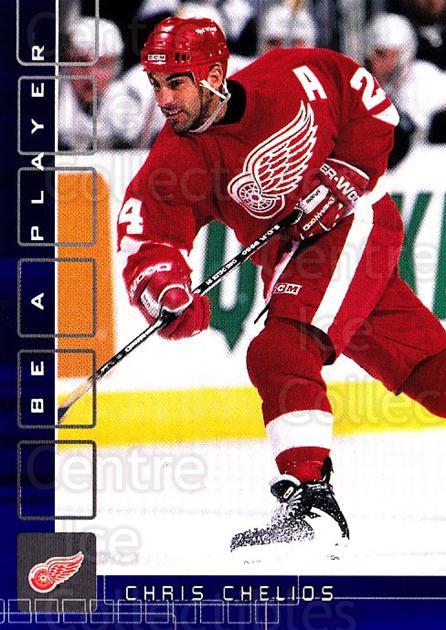2001-02 BAP Memorabilia Sapphire #124 Chris Chelios<br/>1 In Stock - $5.00 each - <a href=https://centericecollectibles.foxycart.com/cart?name=2001-02%20BAP%20Memorabilia%20Sapphire%20%23124%20Chris%20Chelios...&quantity_max=1&price=$5.00&code=363796 class=foxycart> Buy it now! </a>