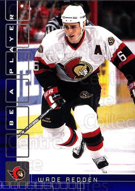 2001-02 BAP Memorabilia Sapphire #138 Wade Redden<br/>1 In Stock - $5.00 each - <a href=https://centericecollectibles.foxycart.com/cart?name=2001-02%20BAP%20Memorabilia%20Sapphire%20%23138%20Wade%20Redden...&quantity_max=1&price=$5.00&code=363810 class=foxycart> Buy it now! </a>