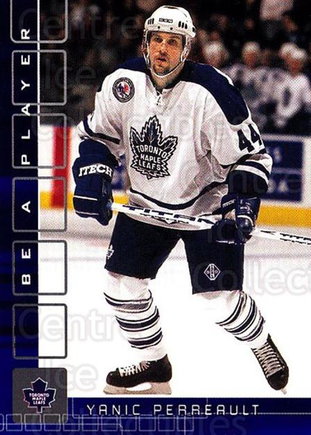 2001-02 BAP Memorabilia Sapphire #141 Yanic Perreault<br/>1 In Stock - $5.00 each - <a href=https://centericecollectibles.foxycart.com/cart?name=2001-02%20BAP%20Memorabilia%20Sapphire%20%23141%20Yanic%20Perreault...&quantity_max=1&price=$5.00&code=363814 class=foxycart> Buy it now! </a>