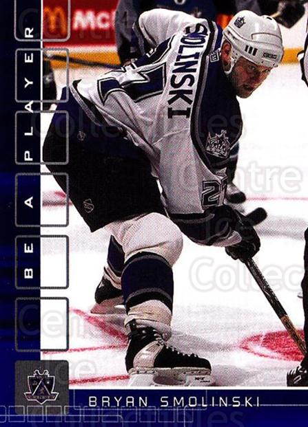 2001-02 BAP Memorabilia Sapphire #152 Bryan Smolinski<br/>3 In Stock - $5.00 each - <a href=https://centericecollectibles.foxycart.com/cart?name=2001-02%20BAP%20Memorabilia%20Sapphire%20%23152%20Bryan%20Smolinski...&quantity_max=3&price=$5.00&code=363826 class=foxycart> Buy it now! </a>